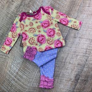 Matilda Jane Bodysuit & Leggings Set